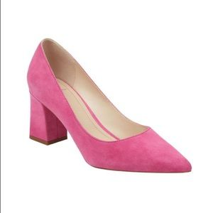 "Marc Fisher LTD ""Zala"" Pump in Fuschia Suede"